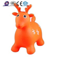 Kids cartoon cow inflatable jumping animals
