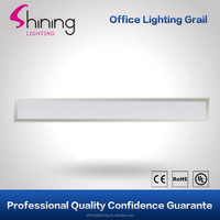 2015 hot customized rectangle ultral thin side lit 26W 150x1200 led intergrated ceiling panel light with CE certificate