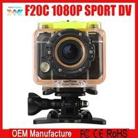 Action Camera Waterproof Camera 1080P Full HD F20C Helmet Camera Underwater Sport Camera