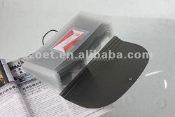 Plastic decorative file folders, hanging file folder, plastic expanding file folder