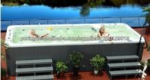 Exercício Piscinas Infinitas / Swim Pool Spa com fonte e TV --- SRP-650