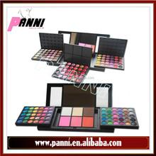Newest 156 Color Eye shadow fashion make up kit 120 eye shadow + 30 lip gloss + 6 blush