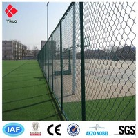 Chain link fence for school playground