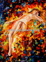 100% hand made oil painting nude women
