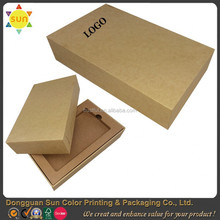 Cell phone packaging paper box kraft paper packaging design mobile phone box