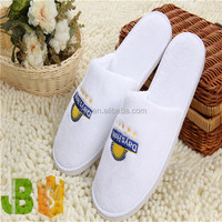 Hotel Terry Towelling Closed toe Bathroom Cheap Personalized slippers