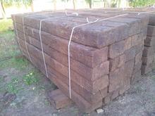 Used Oak, beech, pine railway sleepers