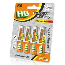 HB r6p um3 aa battery r6 aa battery Primary & Dry Batteries