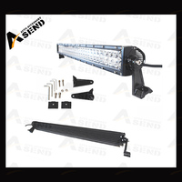 52'' hight quality led light bar 300w white/amber auto light double row 4x4 off road for truck