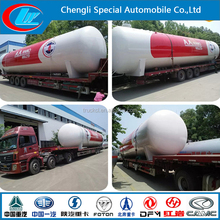 Good quality 32cbm to 80cbm LPG storage tank price cheap, Carbon Steel LPG storage tank