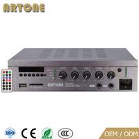 ARTONE PMS-1030D USB SD FM Tuner Bluetooth AUX 4 Entrees AC et DC Puissance Amplificateur mixeur