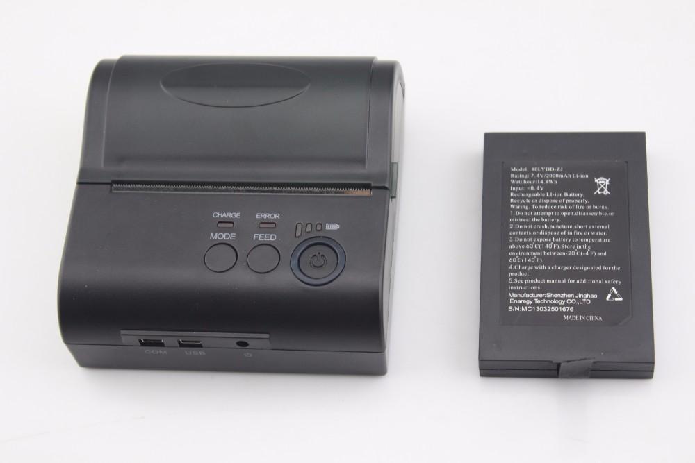 Мобильный телефон чековый принтер bluetooth термопринтер андроид чековый принтер мини