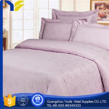 dobby hot sale 40*40s printed brand bedding set