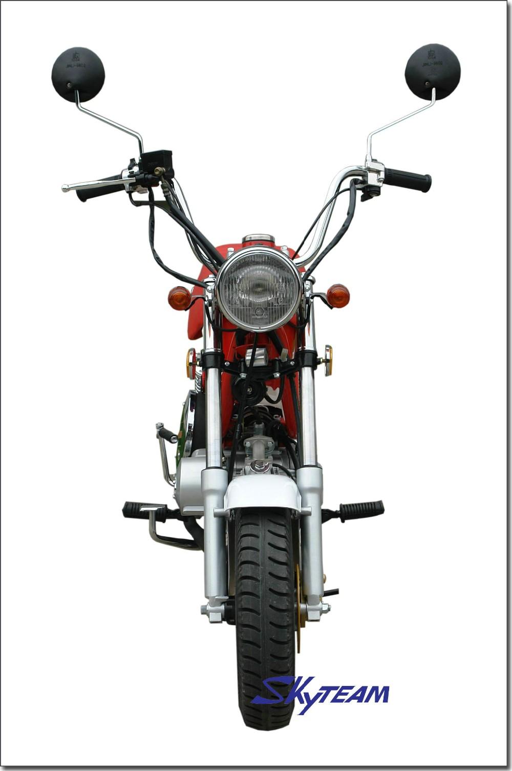 skyteam 4 temps bubbly 50cc et 125cc moto chappy   cee