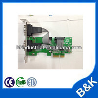 pci to serial 2 ports card pci serial port card PCI-E card MOQ300