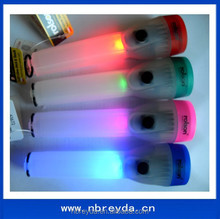Plastic Led Torch Flashing Led Torch