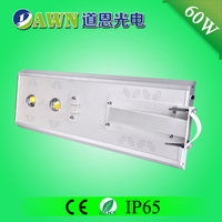 60W Sunpower COB long lifespan integrated all in one solar led lights solar street light light fittings