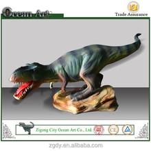 Gros mini - dinosaure artisanat du bois dinosaur statue à vendre