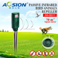 Hot PIR sensor ultransonic animal bird control device