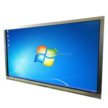 Fashion aluminum frames 65inch Monitor Touch Screen with Anti-glare glass