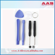 front screen glass replcement opening and reparing tools kit for iphone 4/4s/5/5s/5c 7 in 1