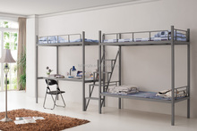 steel double people up and down steel dormitory bed