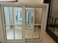 Hot products new design aluminum casement window with tempered glass in south africa and south america energy saving