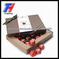 papel de embalaje caja de bombones de lujo 2014 hecho en china