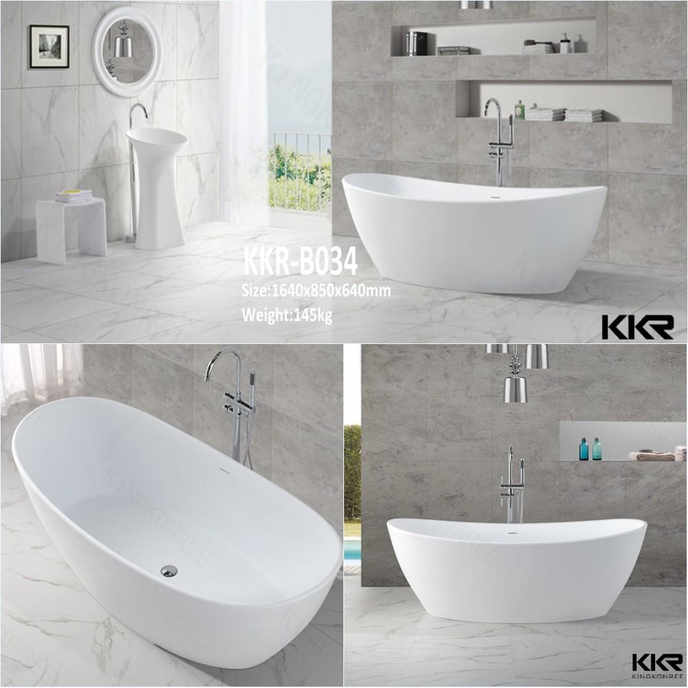 resina poliestere vasche da bagno piccolo ammollo vasca da bagno con seduta