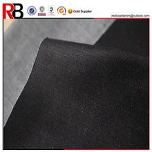 Moda 10 oz azul escuro de cetim denim têxtil material de tecido jeans