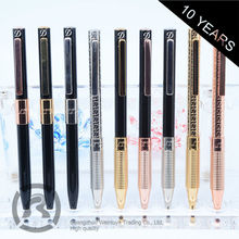 Small Order Accept Vintage Professional Design Pens Ballpoint Famous Brands With Custom Printed Logo