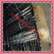 Coal auger drill pipes