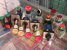 Selector Switch, Press Switch, Pilot Light