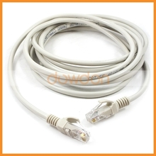 High Speed 3M Cat5e UTP Lan Cable With RJ45 8P8C Plugs Communication Cable