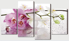 Canvas paintings of flower,decoration painting,wall art decoration picture