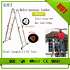 Factory direct aluminum ladder jacob ladder AY-403