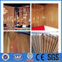 decorative curtain screen metal mesh