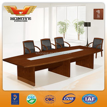 New wood veneer conference meeting table HY-A8538