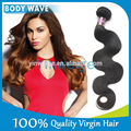Extensiones de cabello natural virgen color natural de aprox 35 cm de largo