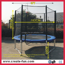 CreateFun Promotional 6FT Sport Trampoline For Resellers