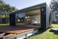 Econova Small New prefab mobile modular home with sandwich panels wall