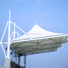 Shock Resistant Tent Shade Structure Membrane Cover Landscape