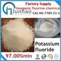 Caliente venta de fluoruro de potasio 7789-23-3
