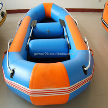 High quality hot selling inflatable river rafting fishing boat for sale(M-019)