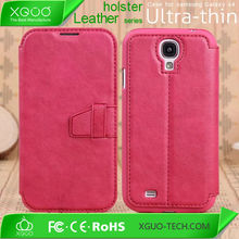 leather back cover for galaxy s4,mobile phone cover for samsung S4