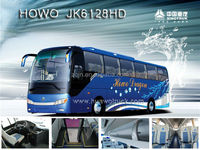 SINOTRUK high speed 50 passenger luxury bus used buses for sale