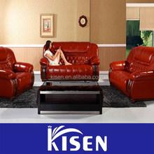A065 Furniture genuine leather sofa china