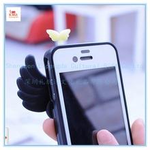 Custom promotion earphone jack accessory, silicone earphone jack accessory, silicone rubber earphone jack accessory