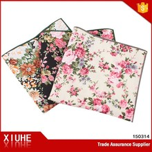Men's new fashion cotton pocket sqaure/handkerchief