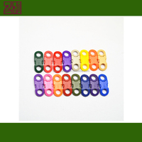 colored plastic backpack buckle ,plastic curved buckle,plastic insert buckle for bag